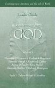 Listening for God Ldr Vol 1 als Taschenbuch