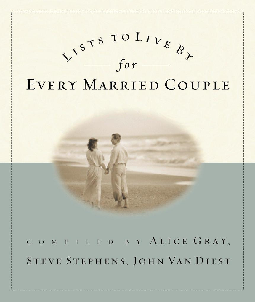 Lists to Live by for Every Married Couple als Taschenbuch