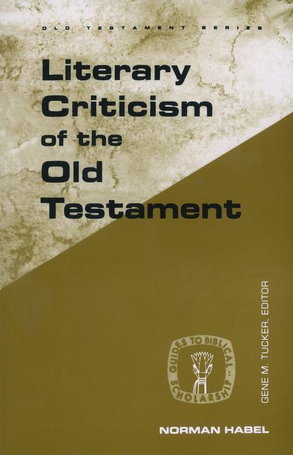 Literary Criticism of the Old Testament als Taschenbuch