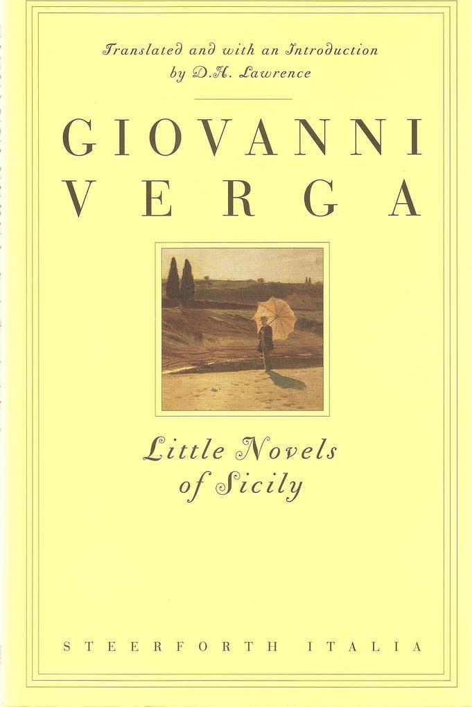 Little Novels of Sicily als Taschenbuch