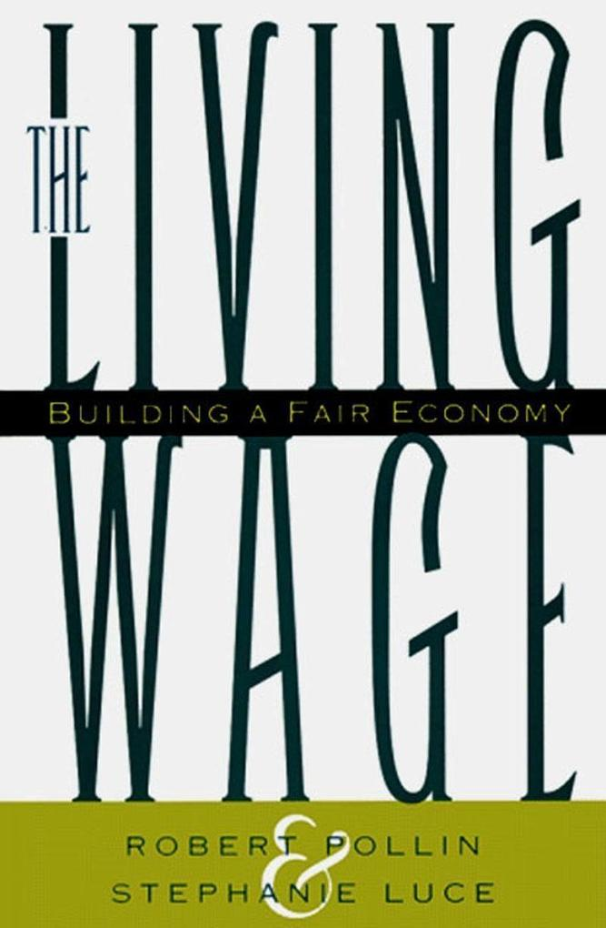 Living Wage als Buch