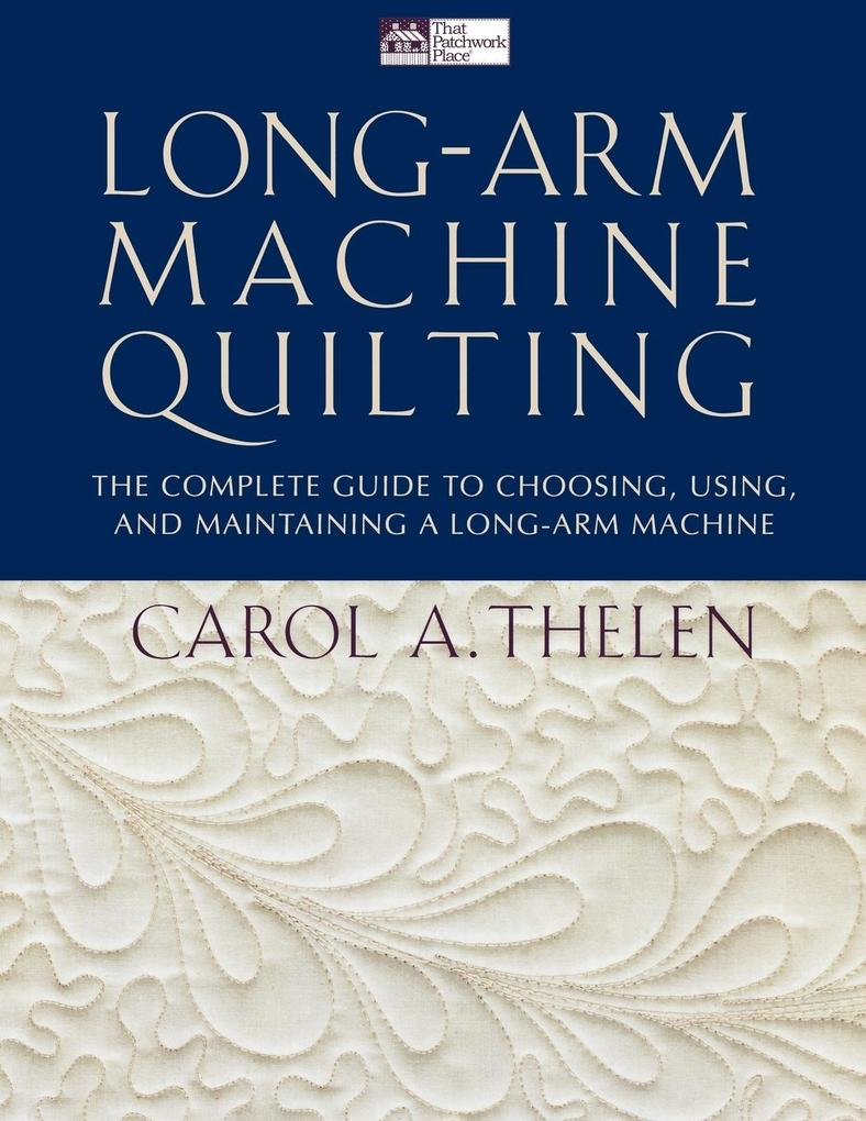 Long-Arm Machine Quilting Print on Demand Edition als Taschenbuch