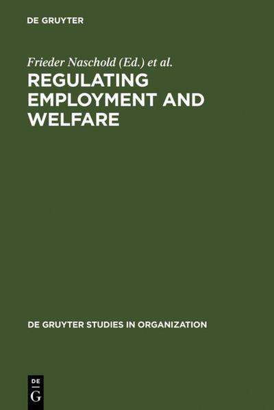 Regulating Employment and Welfare als Buch (gebunden)