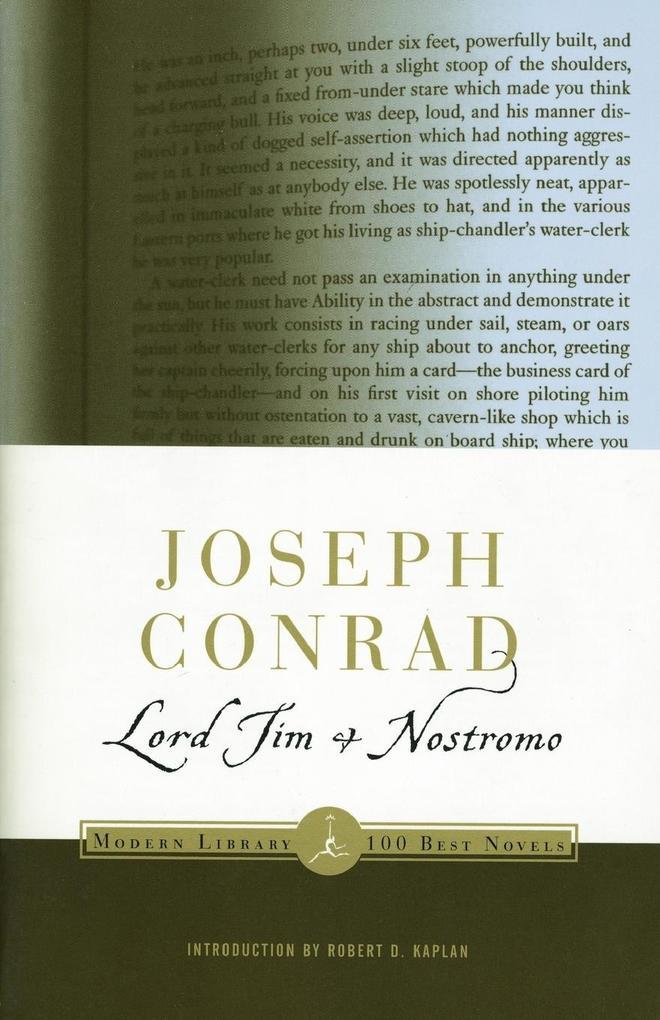 Lord Jim & Nostromo als Taschenbuch
