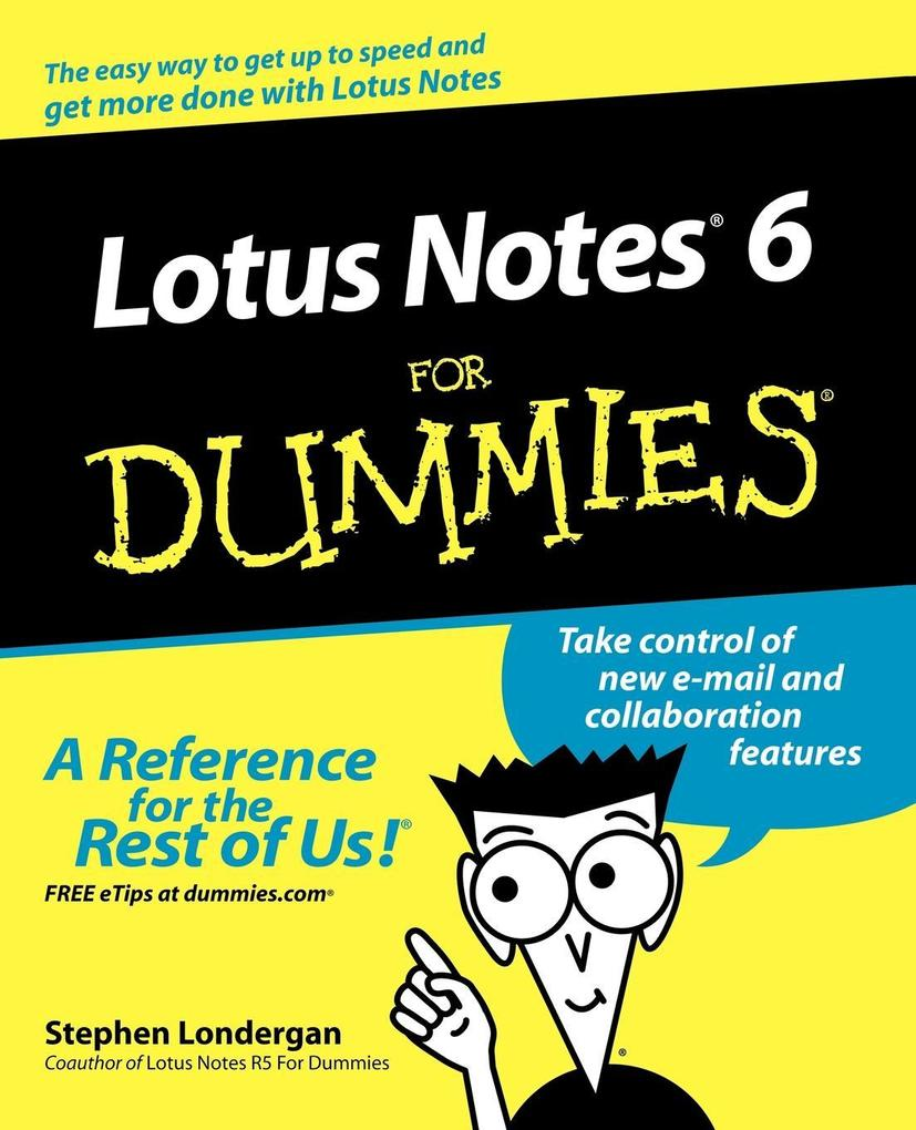Lotus Notes R6 for Dummies als Buch