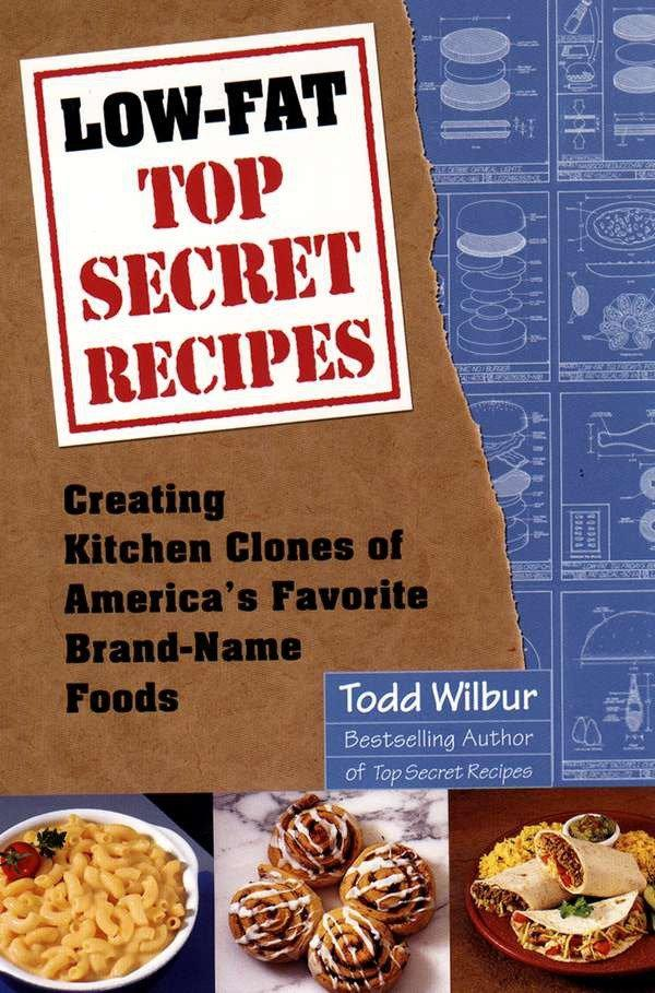 Low-Fat Top Secret Recipes als Taschenbuch