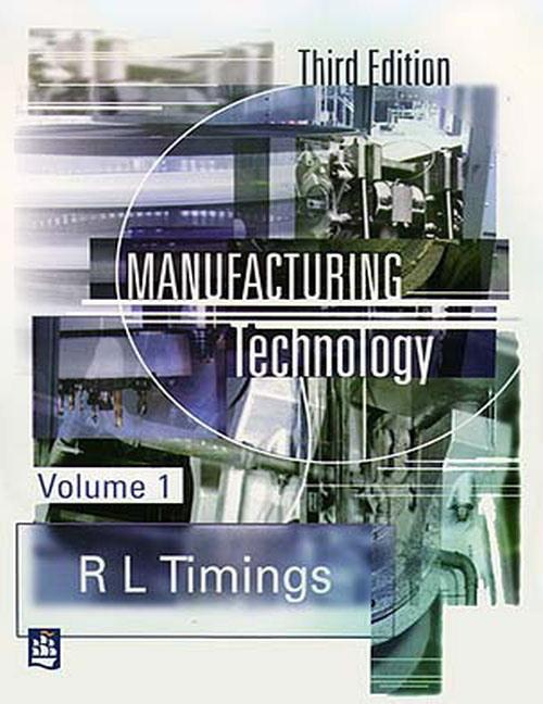 Manufacturing Technology als Buch