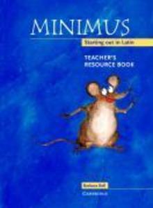 Minimus Teacher's Resource Book als Buch
