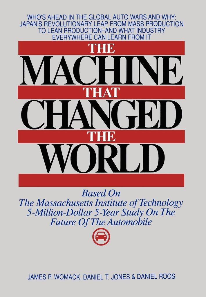 Machine That Changed the World als Buch