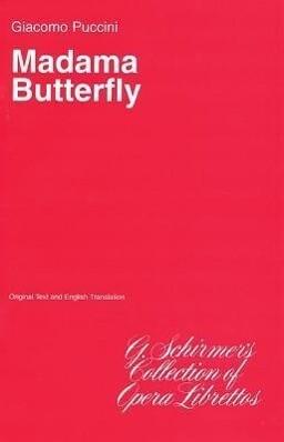 Madama Butterfly: Libretto als Taschenbuch