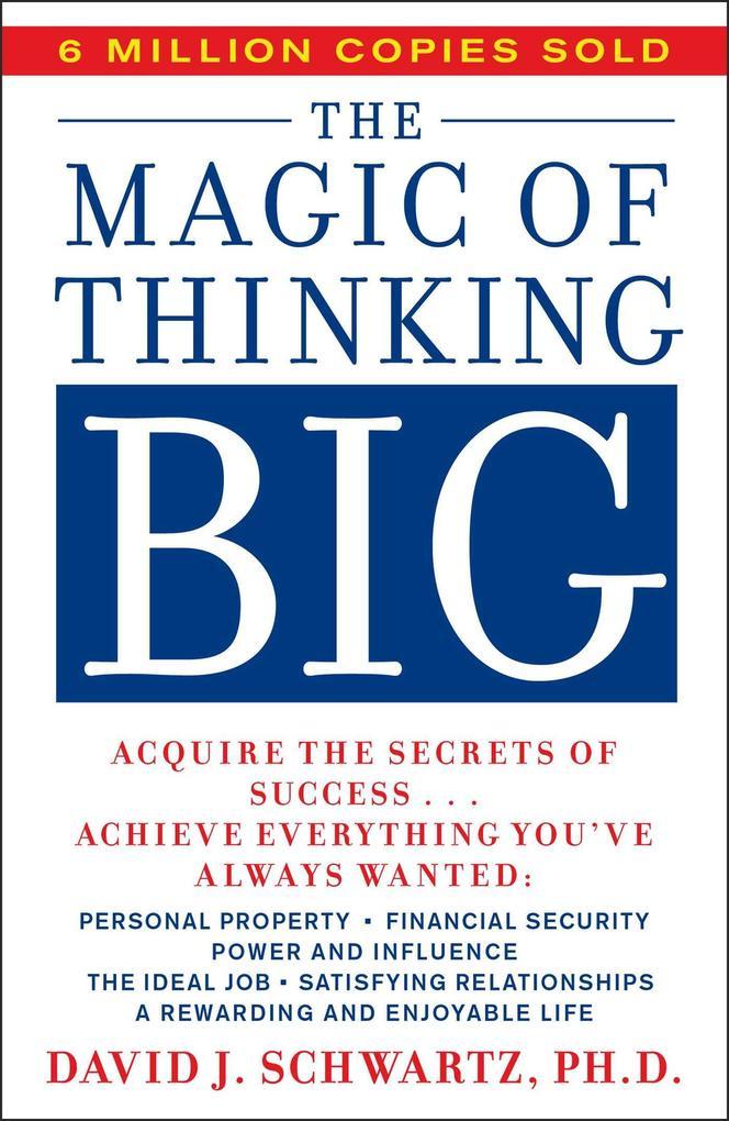 Magic of Thinking Big als Taschenbuch