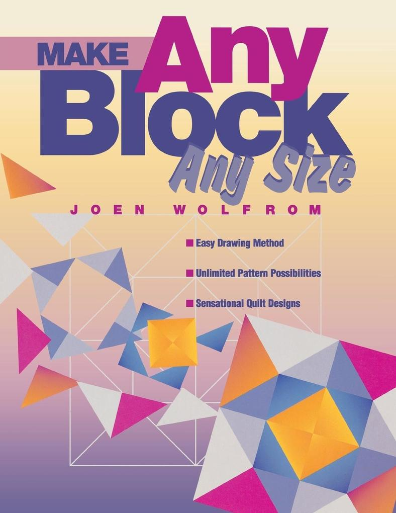 Make Any Block Any Size - Print on Demand Edition als Taschenbuch