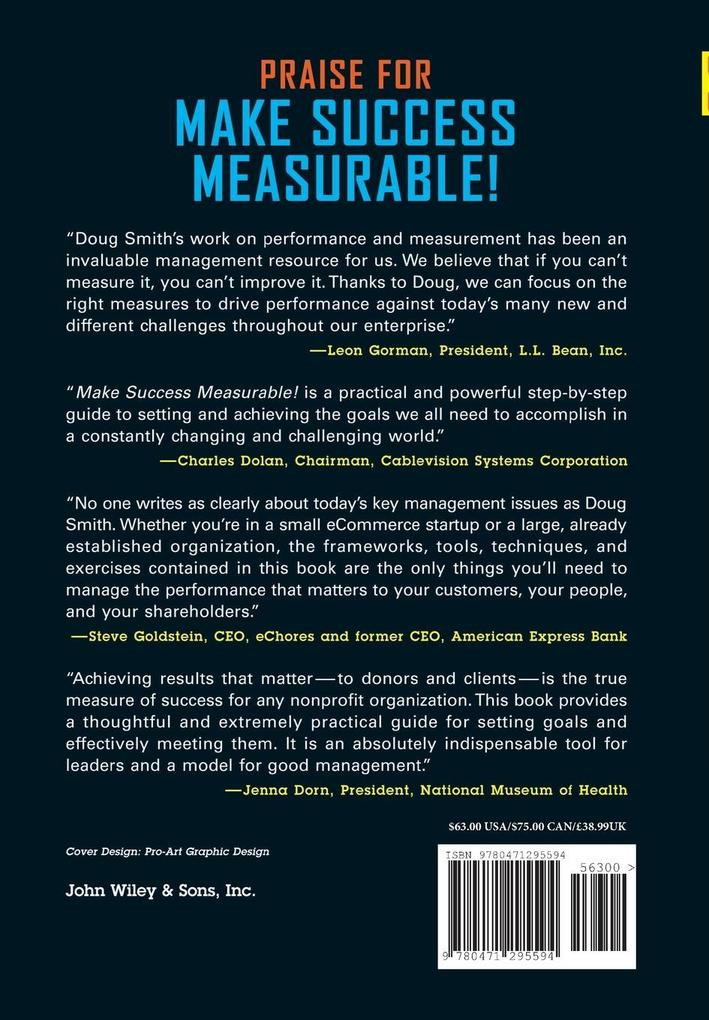 Make Success Measurable: A Mindbook-Workbook for Setting Goals and Taking Action als Buch