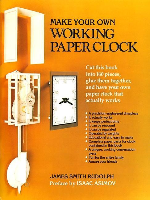 Make Your Own Working Paper Clock als Taschenbuch