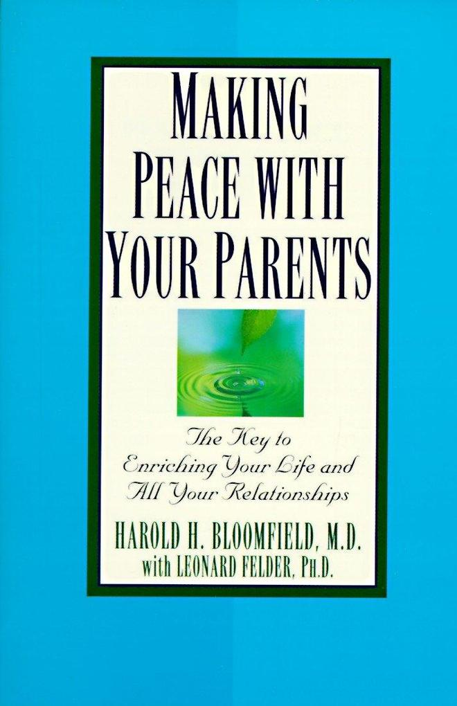 Making Peace with Your Parents als Taschenbuch