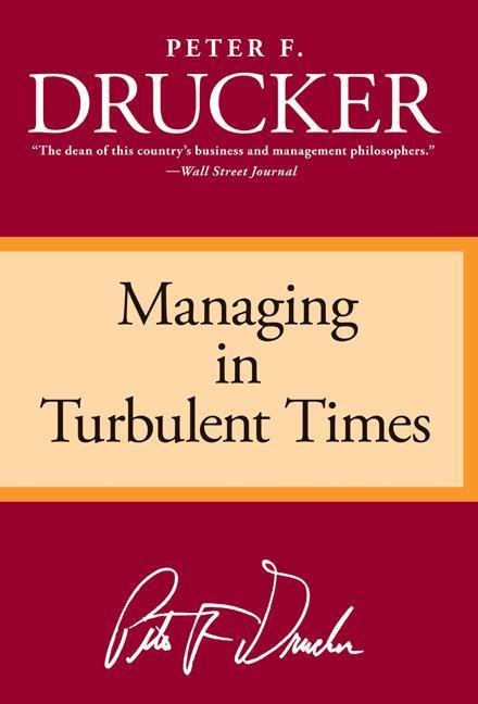 Managing Turbulent Times als Taschenbuch
