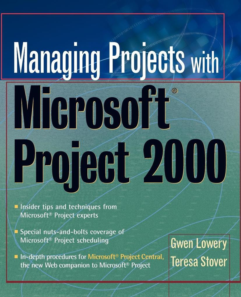 Managing Projects w/MS Project als Buch