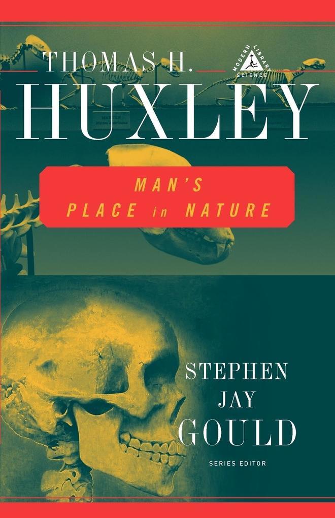 Man's Place in Nature als Taschenbuch