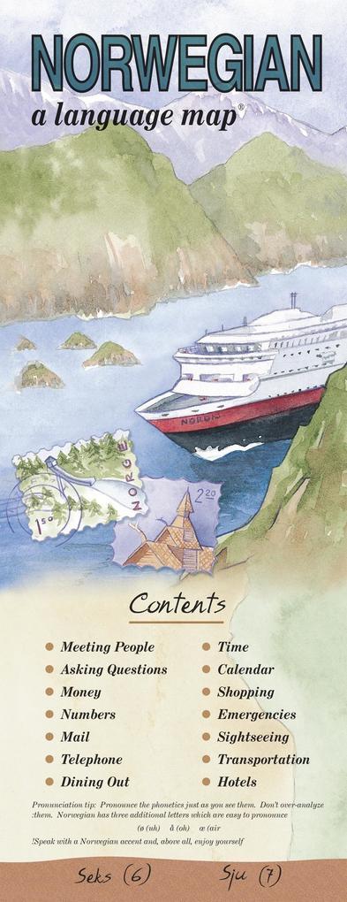 Norwegian a Language Map als Buch