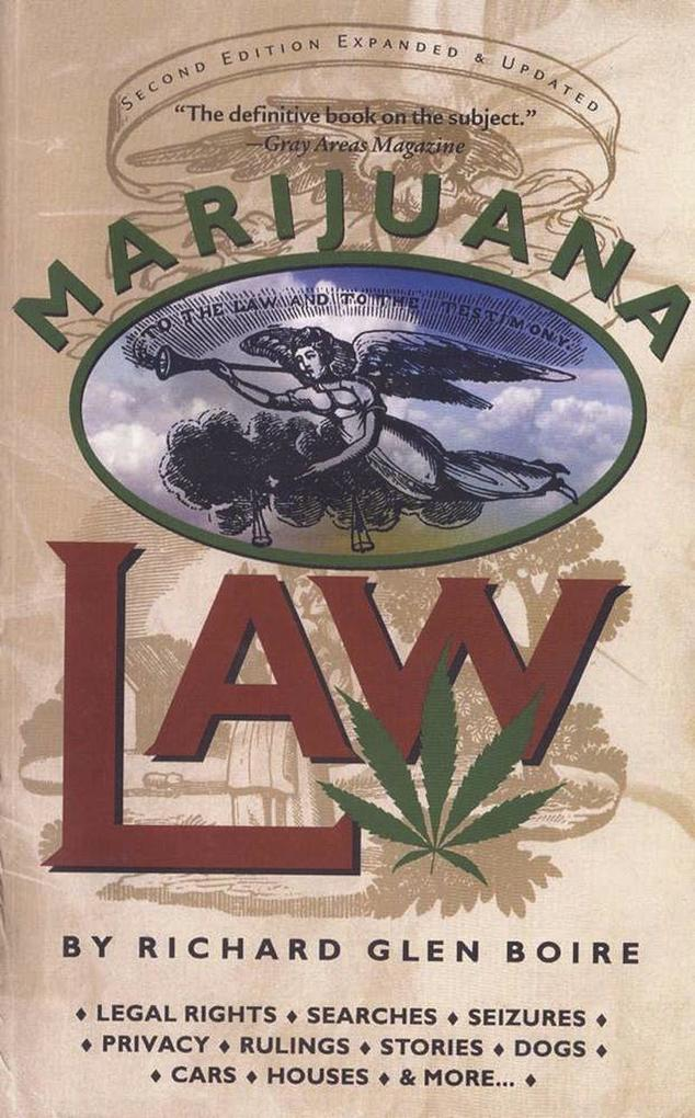 Marijuana Law als Taschenbuch