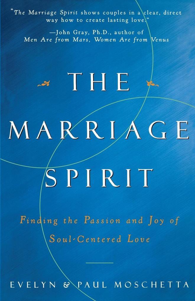 The Marriage Spirit als Taschenbuch