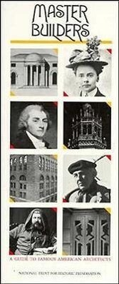 Master Builders: A Guide to Famous American Architects als Taschenbuch