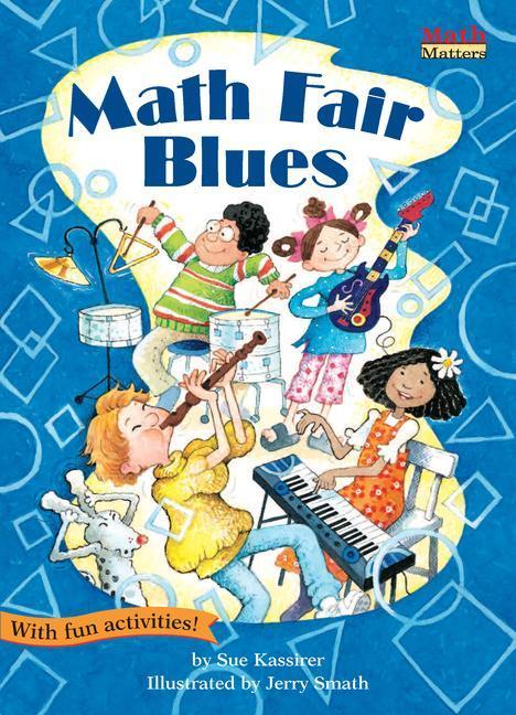 Math Fair Blues: 2-D Shapes als Taschenbuch