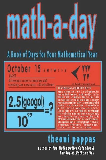 Math-A-Day: A Book of Days for Your Mathematical Year als Taschenbuch