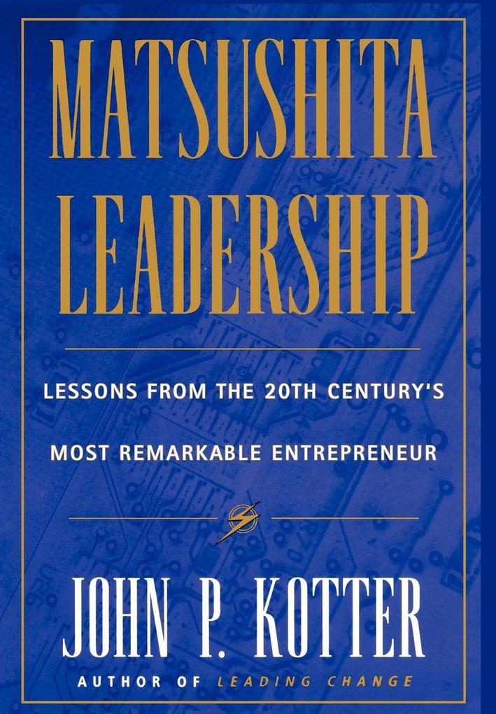 Matsushita als Buch