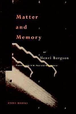 Matter & Memory als Buch
