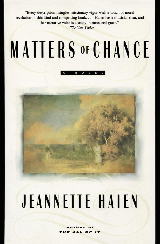 Matters of Chance als Taschenbuch