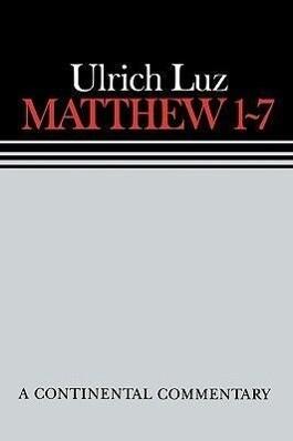 Matthew 1 7 Continental Commen als Buch