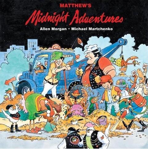 Matthew's Midnight Adventures als Buch