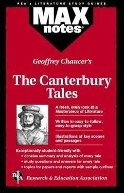 Canterbury Tales, the (Maxnotes Literature Guides) als Taschenbuch