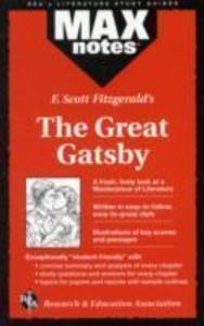 """F.Scott Fitzgerald's """"Great Gatsby"""" als Taschenbuch"""