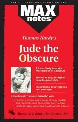Jude the Obscure (Maxnotes Literature Guides) als Taschenbuch