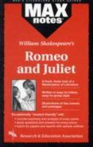Romeo and Juliet (Maxnotes Literature Guides) als Taschenbuch