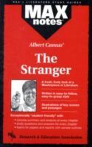 Stranger, the (Maxnotes Literature Study Guides) als Taschenbuch
