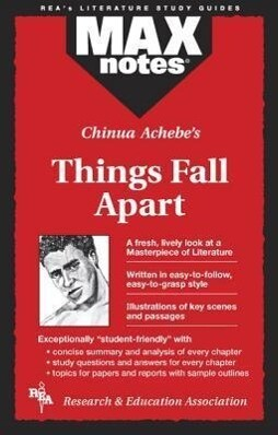 Things Fall Apart (Maxnotes Literature Guides) als Taschenbuch