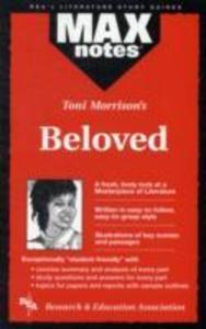 Beloved (Maxnotes Literature Guides) als Taschenbuch