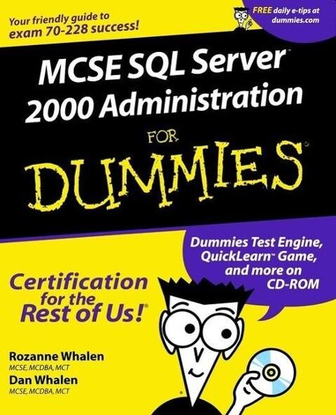 MCSE SQL Server 7 Administration For Dummies als Taschenbuch