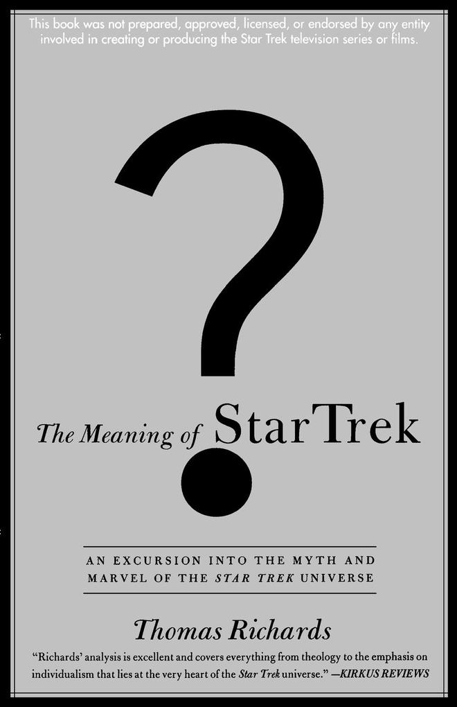 The Meaning of Star Trek als Taschenbuch