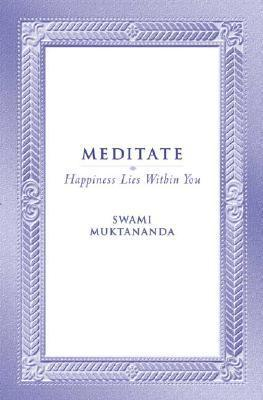 MEDITATE SYDA FOUNDATION/E als Taschenbuch