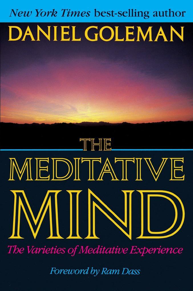 The Meditative Mind als Taschenbuch