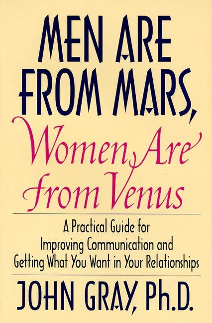 Men Are from Mars, Women Are from Venus als Buch