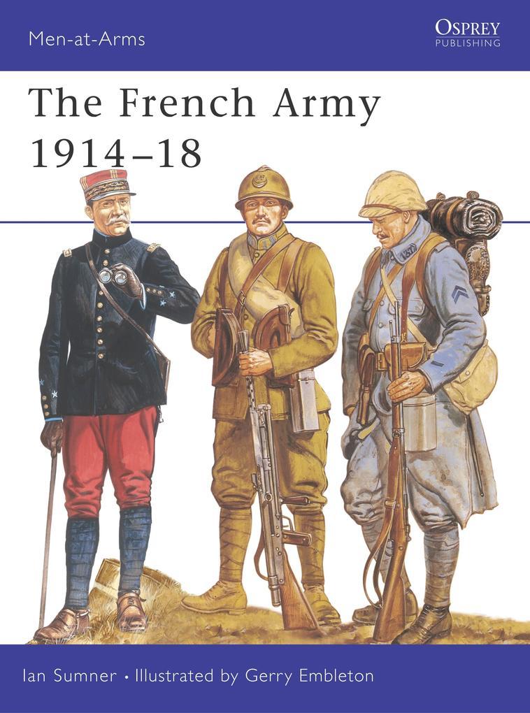 French Army, 1914-18 als Buch