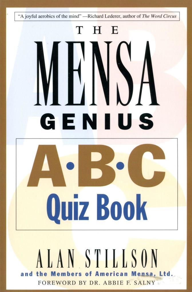 Mensa Genius A-B-C Quiz Book als Taschenbuch