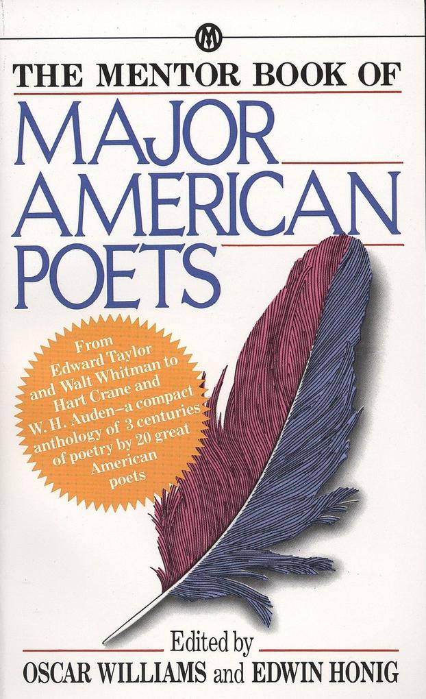 The Mentor Book of Major American Poets als Taschenbuch