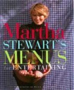 Martha Stewart's Menus for Entertaining als Buch