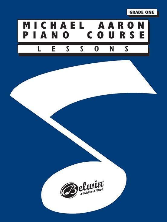 MICHAEL AARON PIANO COURSE GRADE 1 LESSO als Taschenbuch